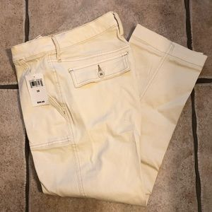 Lucky utility straight pants NWT